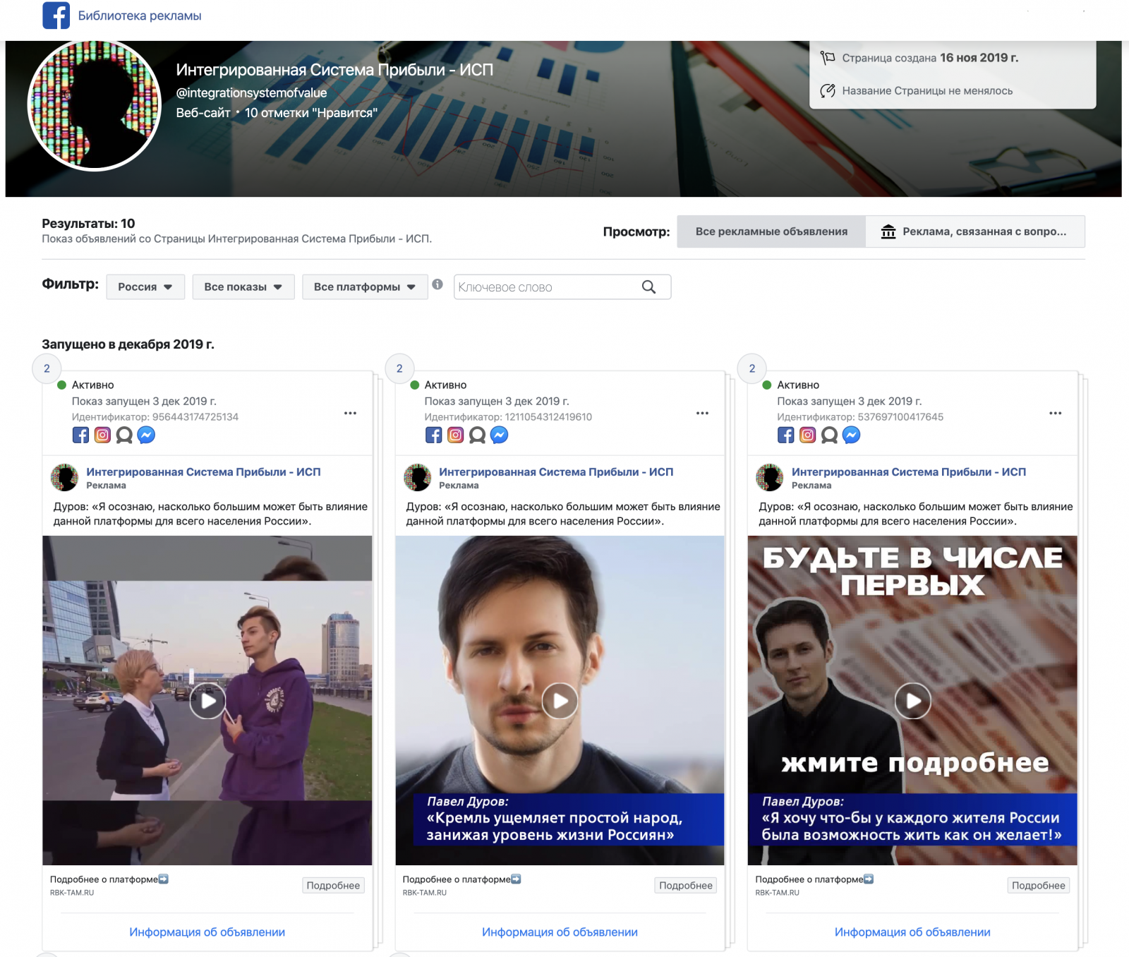 Facebook Ads Liborery