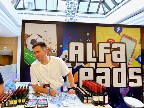 Стенд AlfaLeads